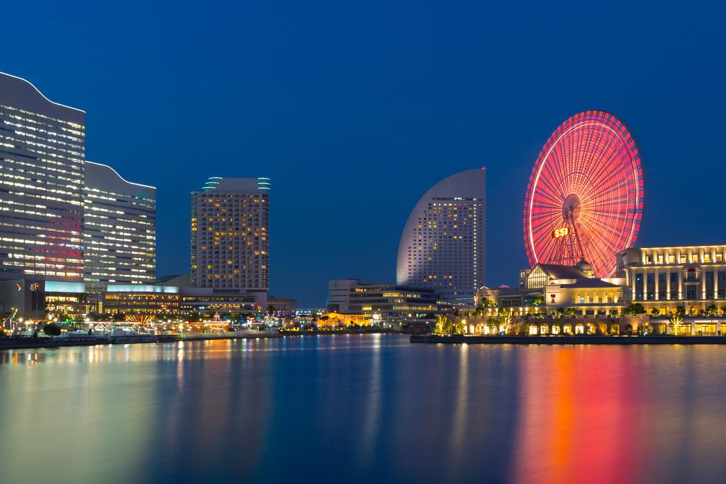 منطقة المرفأ التجاري في يوكوهاما