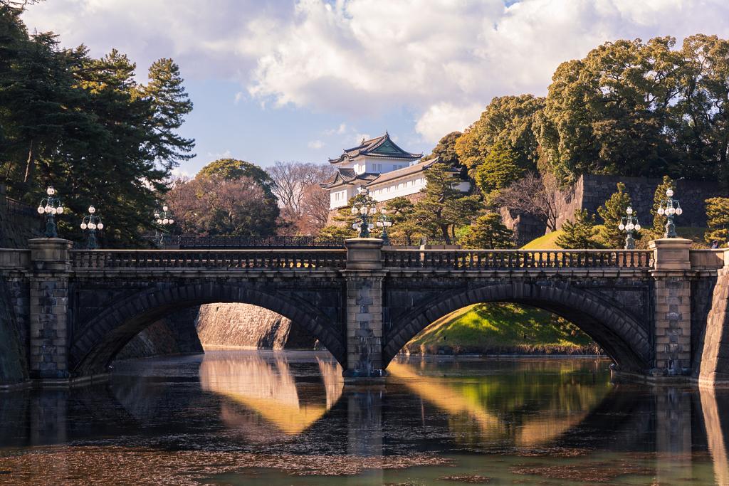 قصر الإمبراطور في طوكيو