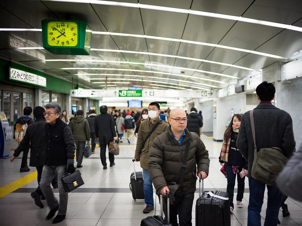 محطة قطارات شينشكو