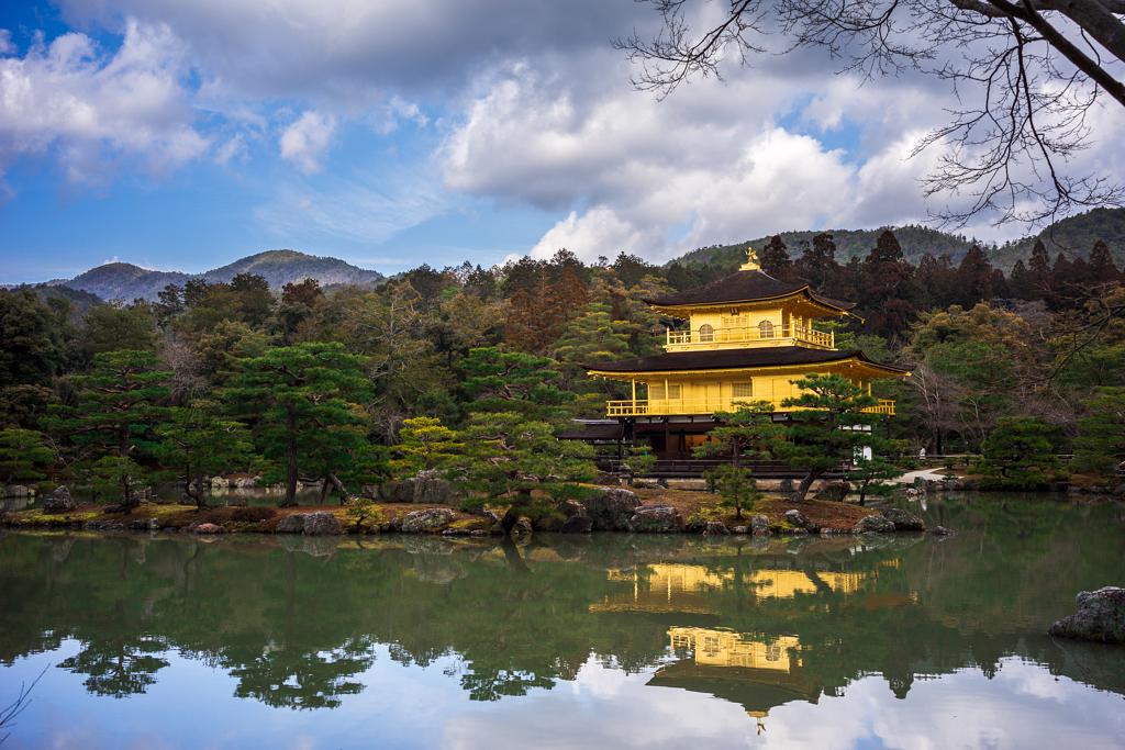 معبد Kinkaku-ji