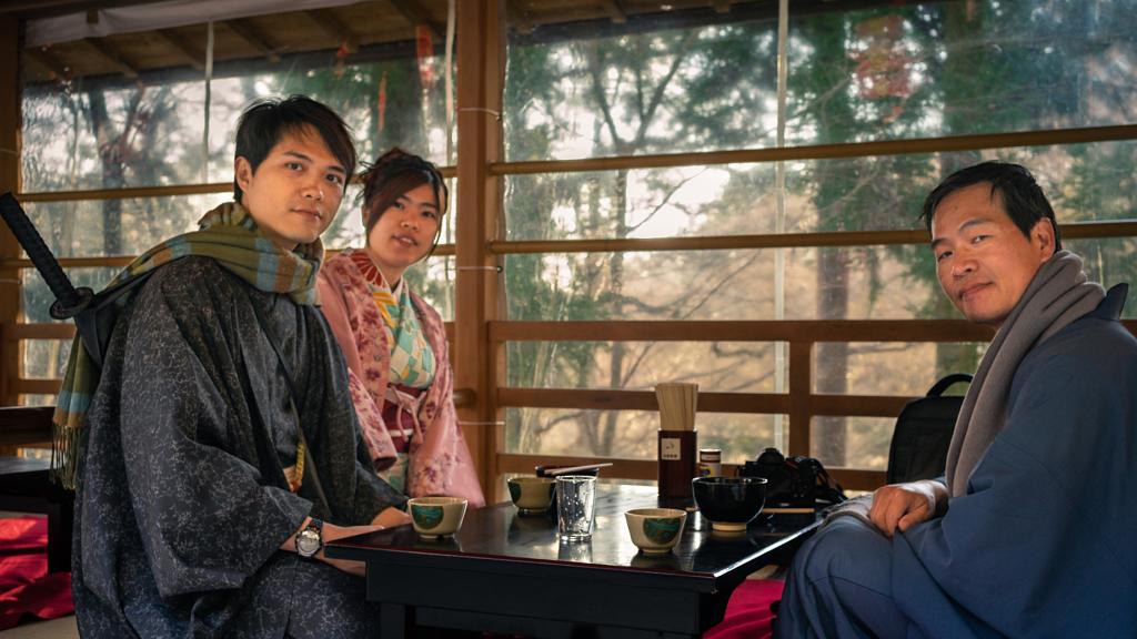 لبس نقليدي في كيوتو