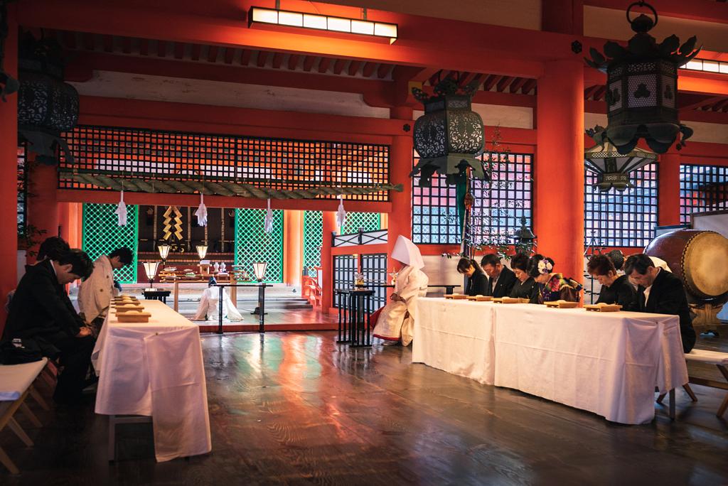عرس تقليدي في هيروشيما