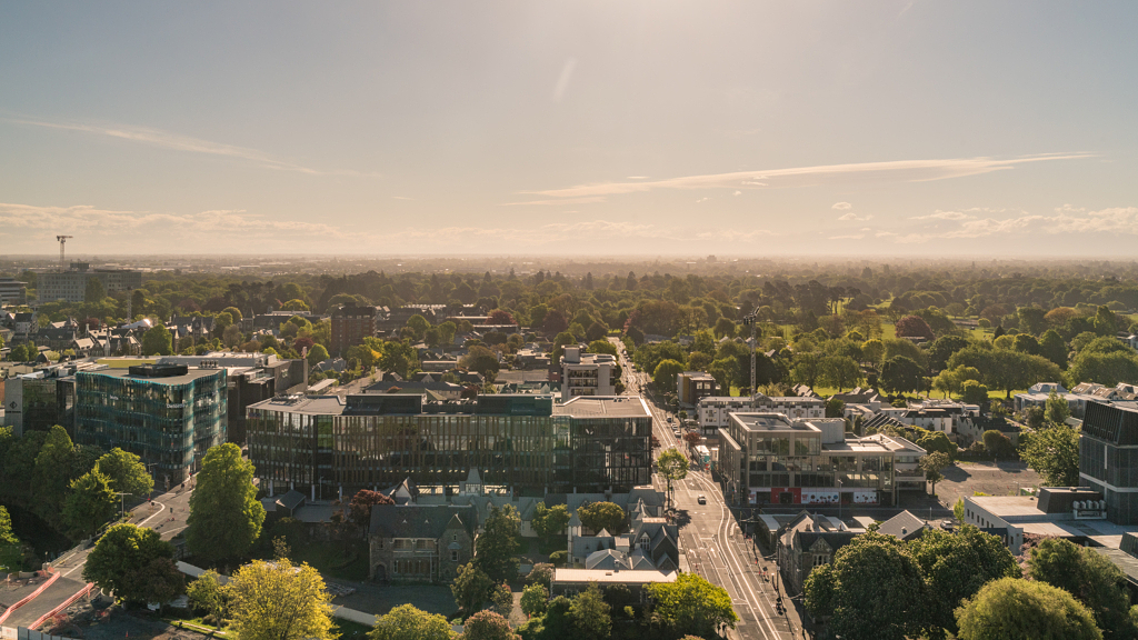 مدينة كرايستشيرتش (Christchurch)