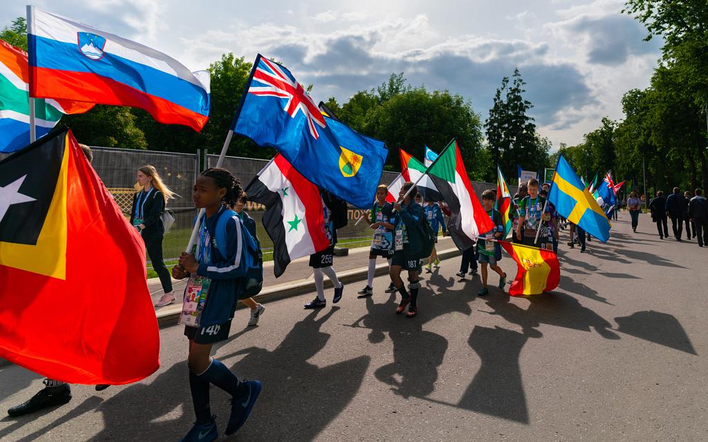 أعلام منتخبات كأس العالم في روسيا