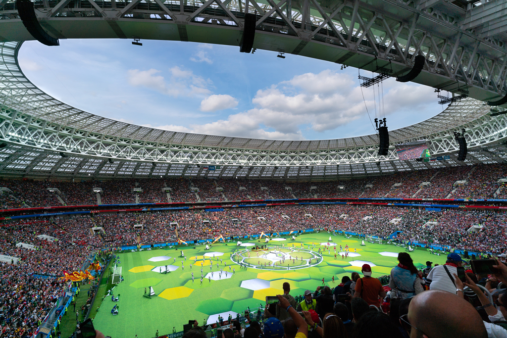 المباراة الإفتتاحية لكأس العالم